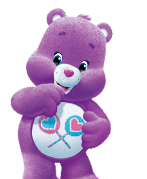 Gallery For gt Purple Care Bear Name