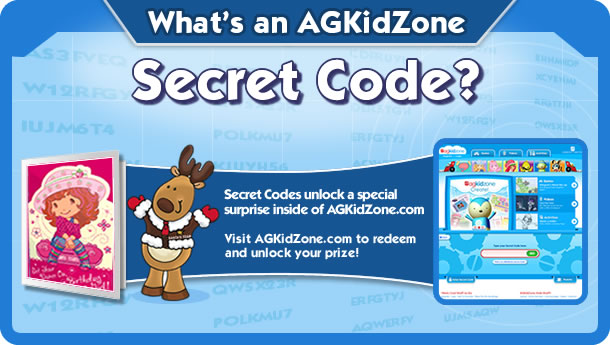 What's an AGKidZone Secret Code?