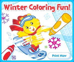 Care Bears - Winter Activity