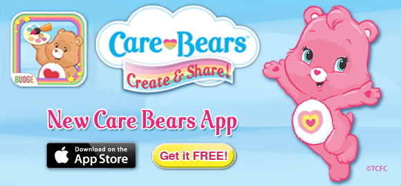 Care Bears Create and Share App!