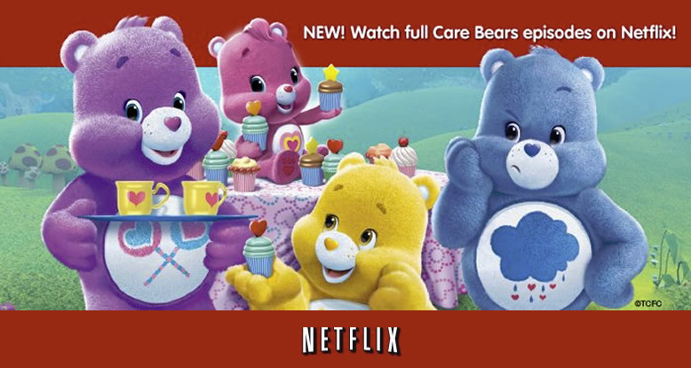 Watch Care Bears on Netflix!
