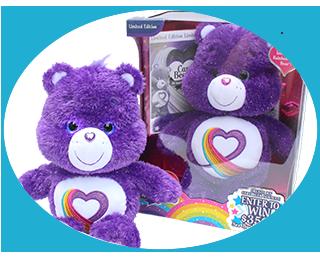 Rainbow Heart Care Bear