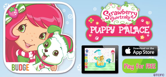 Strawberry Shortcake Puppy Palace