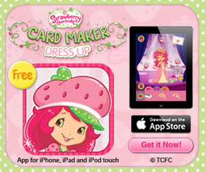 Strawberry Shortcake - Card Maker Dress Up