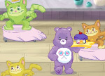 Help Share Bear deliver delicious desserts to the Care Bears!