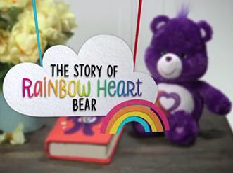 Story Of Rainbow Heart Bear